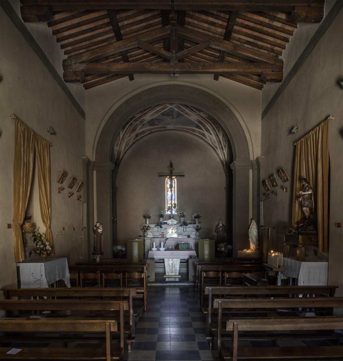 Chiesa San Michele Arcangelo, Avaglio