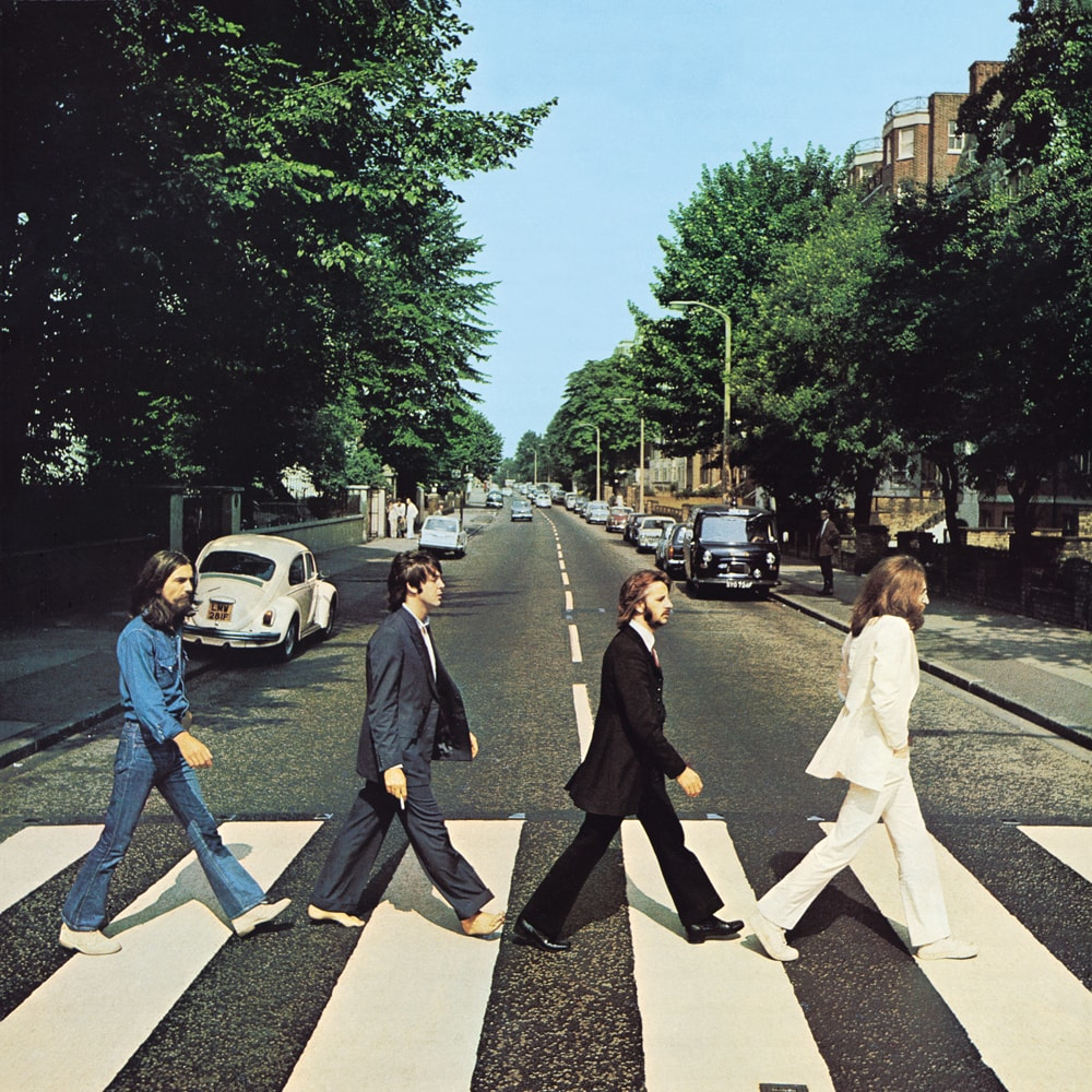 La copertina dell'album Abbey Road dei Beatles