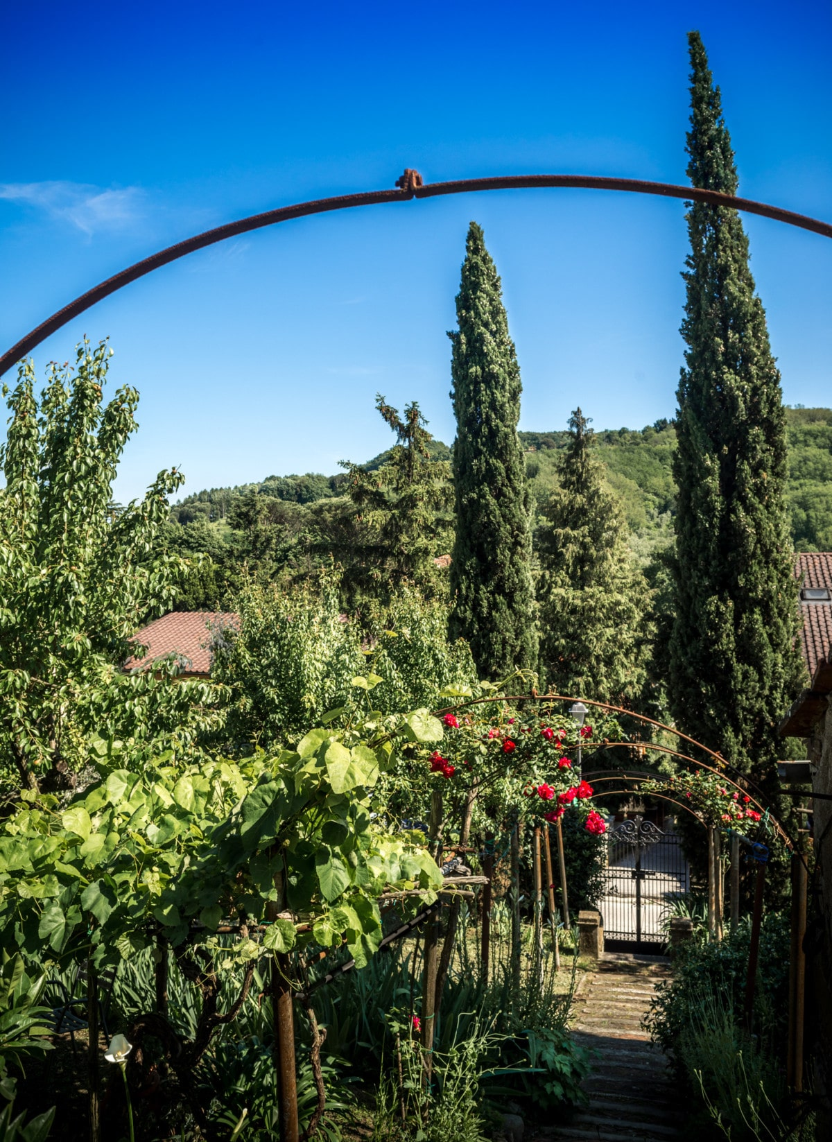 Giardino a Serravalle Alto