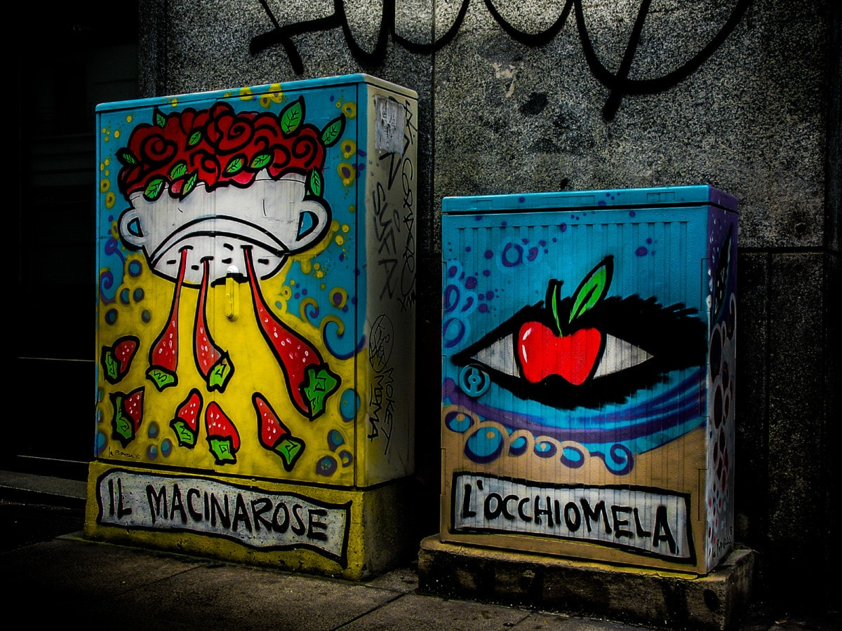 Il Macinarose e l'Occhiomela, Milano