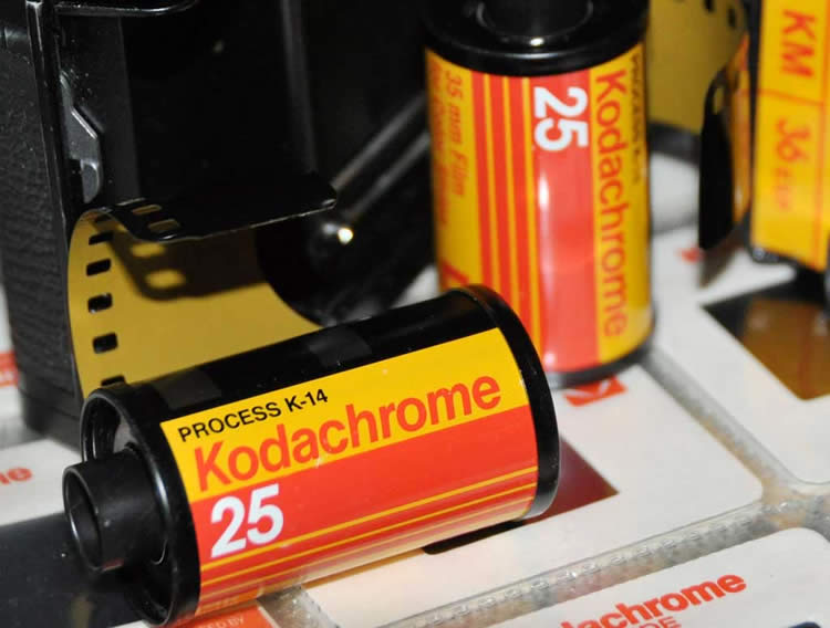 Pellicola Kodachrome 25
