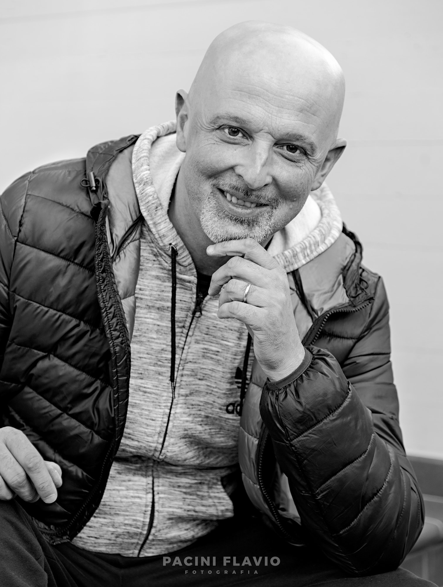 Ritratto business di Massimo Capitani, agente di commercio