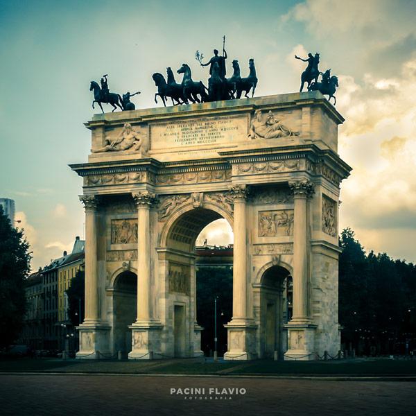 Foto architettura Arco della Pace, Milano