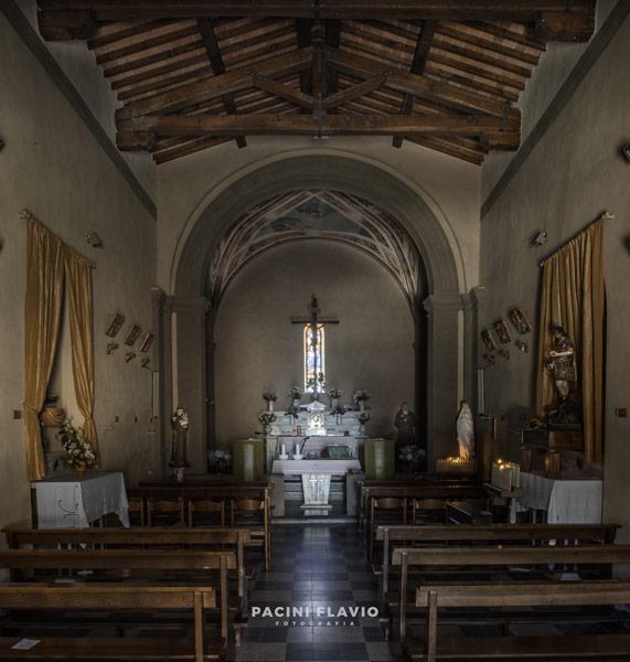 Foto architettura chiesa San Michele Arcangelo, Avaglio