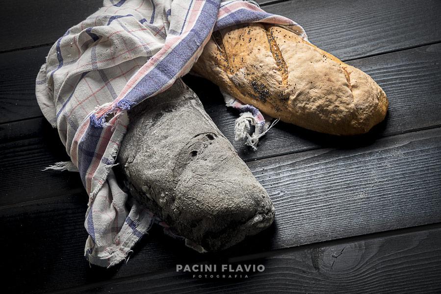 Pane nero e di granoturco