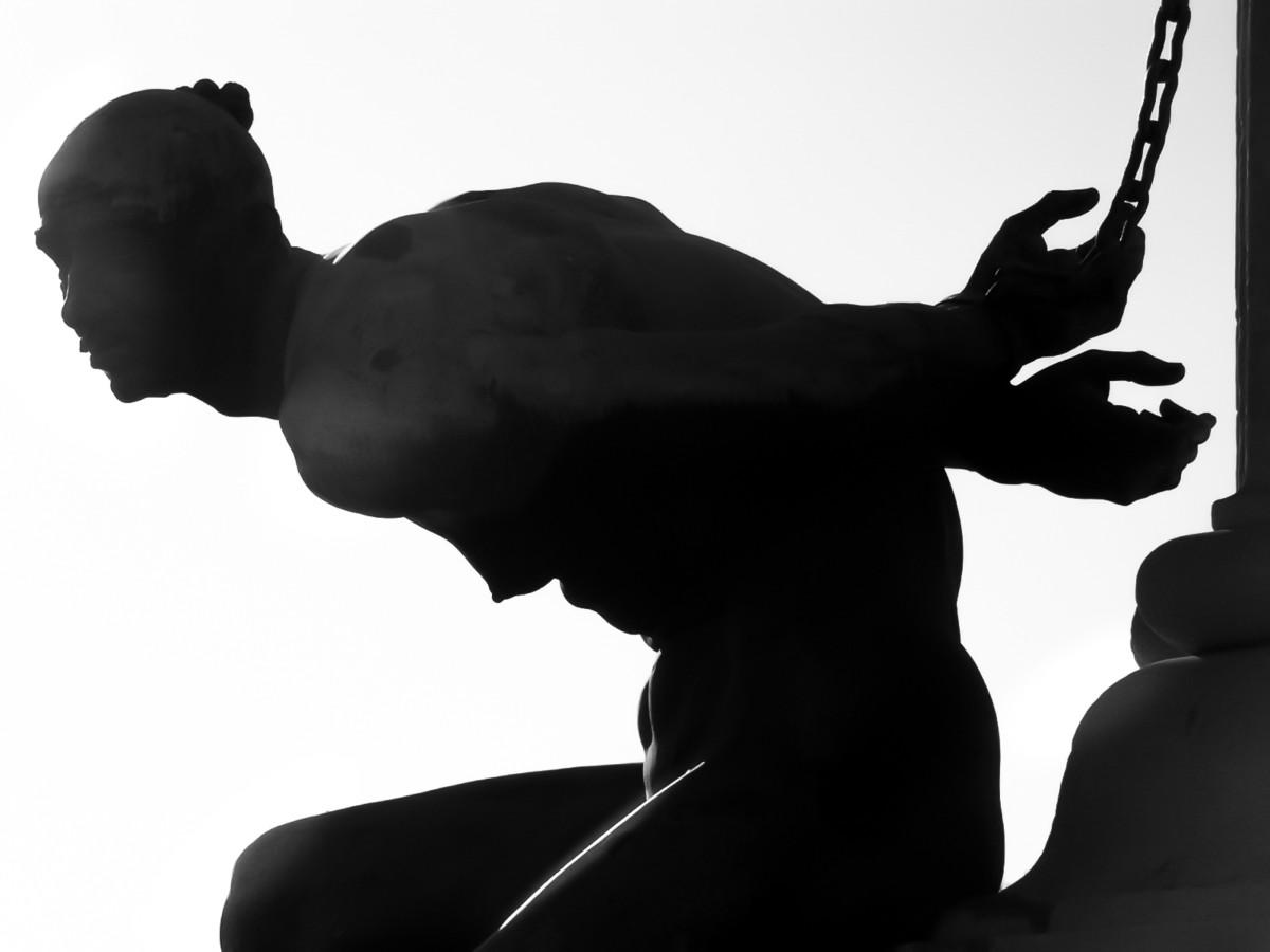 Statua dei Quattro Mori a Livorno (particolare)