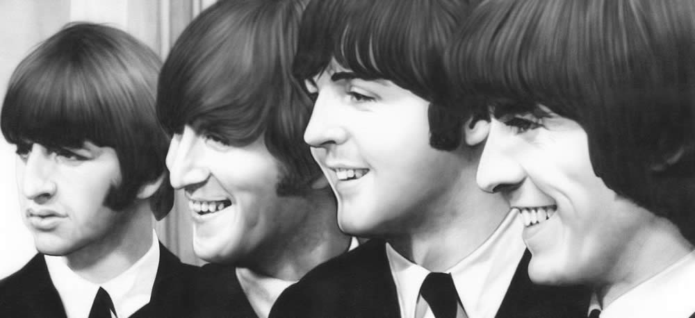 Foto dei Beatles