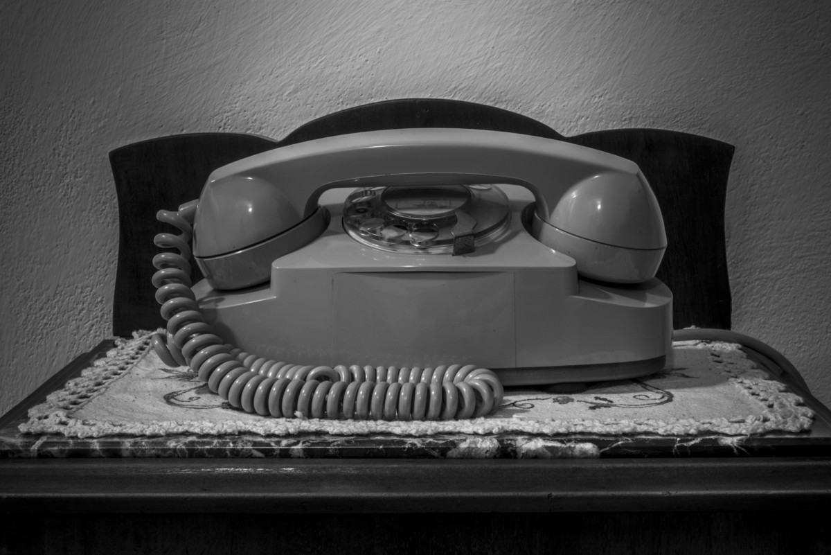 Vecchio telefono SIP, modello Lillo